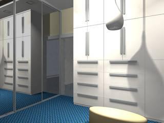 Apartament w Bydgoszczy : styl , w kategorii  zaprojektowany przez StudioJ  Jacek Napierała