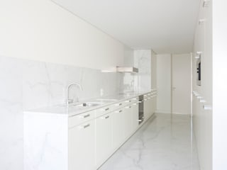 Projeto: Cozinhas minimalistas por Figueiredo+Pena