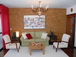 Apartamento Pituba Salas de estar modernas por Rose Lima & Fritz Zehnle Arquitetura Moderno