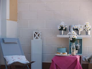 Piloto Motilleja: Terrazas de estilo  de Tu Casa Home Staging
