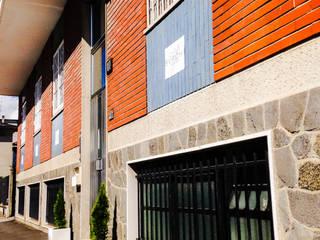 Laboratorio Negozi & Locali commerciali moderni di BURCHI INTERIORS Moderno