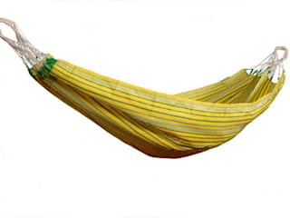 COLOMBIANA SINGLE HAMMOCK – LEMON:   by Lakeland Hammocks