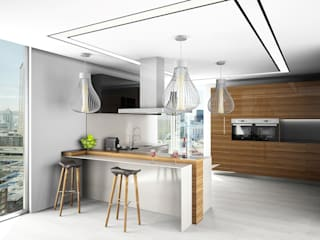Live Decoration Dapur Gaya Eklektik Multicolored