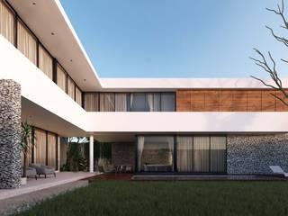 Case moderne di TNGNT arquitectos Moderno