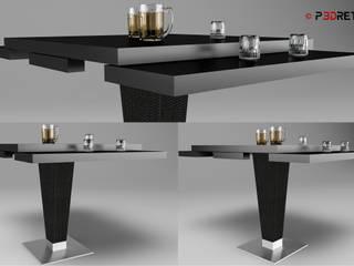 Modellazione oggetti di P3dretti Moderno