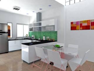 Reforma-Ampliación de vivienda familiar de Martin Arquitectos Moderno