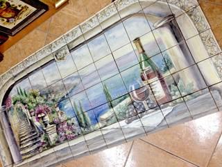 de Мастерская росписи по фарфору и керамической плитке АртФлёра Mediterráneo