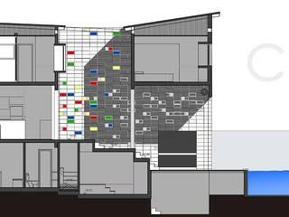 modern  by Rr+a  bureau de arquitectos - La Plata, Modern