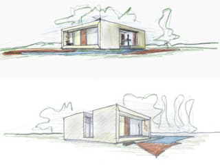 Casas modernas de VISMARACORSI ARQUITECTOS Moderno