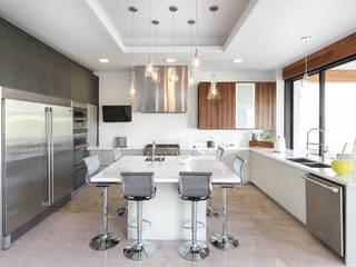 CASA CAR Cocinas modernas de Imativa Arquitectos Moderno Madera Acabado en madera