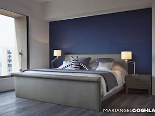 MARIANGEL COGHLAN Modern style bedroom Multicolored