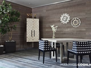 MARIANGEL COGHLAN Modern dining room Multicolored