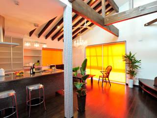 Dapur Modern Oleh 松浦旦美建築事務所 Modern