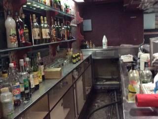 Rénovation restaurant: Bars & clubs de style  par mpdeco