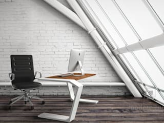 Betonowe meble: styl , w kategorii Domowe biuro i gabinet zaprojektowany przez Modern Line