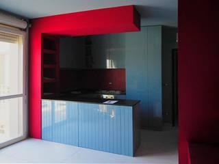 CUCINA ELISA CON IN LAB DI CESENA: Cucina in stile in stile Moderno di ARREDAMENTI MAMA