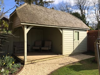 Traditional Garden Storage Country style garage/shed by Garden Affairs Ltd Country