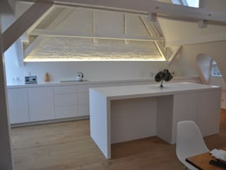 Cucina in stile  di Tischlerei Rolf Alt
