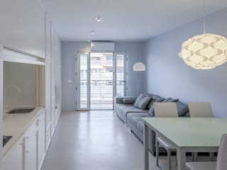 apartamento cris-sol Salones de estilo minimalista de Esteban Rosell Minimalista