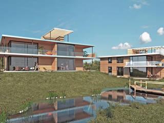 Nachhaltiges Wohnen : moderne Häuser von ARCHITEKTURBÜRO KADEN