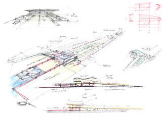 Casas modernas por Ricardo Bofill Taller de Arquitectura Moderno