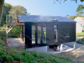 Casas escandinavas de Bertin Bichet Escandinavo Aluminio/Cinc