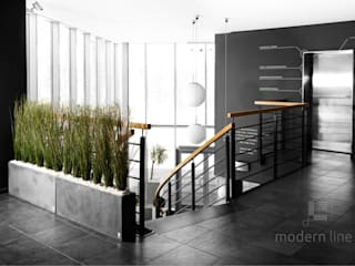 Modern offices & stores by Modern Line Modern