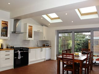Ground Floor Extension, Drury Rd London Building Renovation Cocinas clásicas