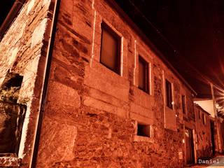 Casas de estilo rústico de Casa do Páteo Rústico