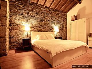 Casa do Páteo Rustic style bedroom