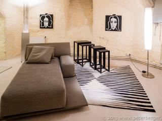 Hin und Weg in Schwarz - Weiß:   von Beate von Harten Atelier für Textildesign