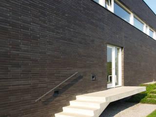 Die dritte Dimension der Fassade - Hagemeister Klinker verleihen Villa Friederich Tiefe und Farbe Hagemeister GmbH & Co. KG Ziegel Braun