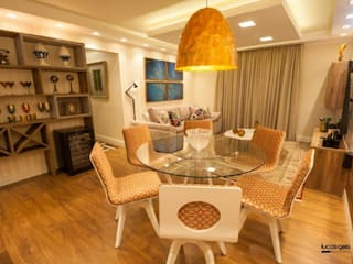 Salones de estilo moderno de Artenova Interiores Moderno