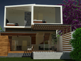 Jardines de estilo moderno de SANTIAGO PARDO ARQUITECTO Moderno