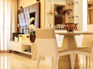 Projeto Sala:   por Amanda do Espírito Santo Design de Interiores