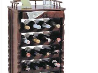 bottigliera rettangolare: Cantina in stile  di CORDEL s.r.l.