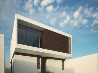 Casa Lomas II Casas minimalistas de RTstudio Minimalista