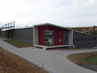Weingut Neiss Moderne Bürogebäude von Burgey Bau GmbH Modern