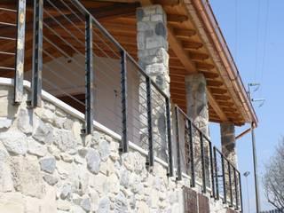 Casas de estilo rural de STUDIO TECNICO GEOMETRA SUGAN DENIS Rural