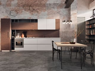 Spring Urban: the industrial style by Dibiesse:  in stile industriale di Dibiesse SpA, Industrial
