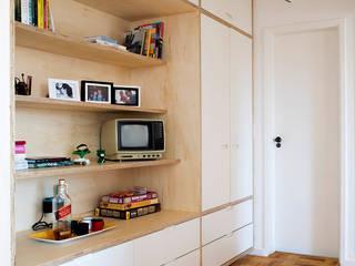 Projeto Apartamento Ipiranga Closets por Estudio MB Moderno