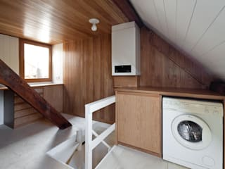 Leiden House SAMF Arquitectos Modern garage/shed
