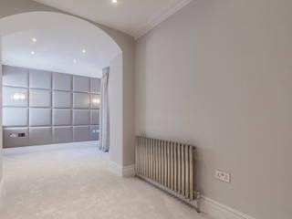 Decorative upholstered wall pannels Mille Couleurs London Cuartos de estilo moderno Sintético Gris