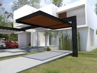 Modern Houses by SANTIAGO PARDO ARQUITECTO Modern