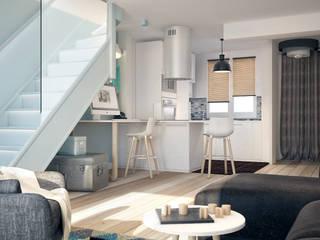 Modern dining room by Concept d'intérieur Modern