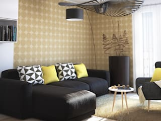 Modern living room by Concept d'intérieur Modern