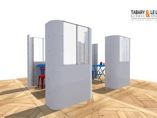 le plan à 2 Frédéric TABARY Piscine moderne Plastique Blanc