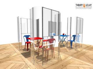 le plan à 2 Frédéric TABARY Bureau moderne Plastique Transparent