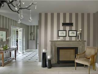 2kul INTERIOR DESIGN Classic style living room Wood Beige