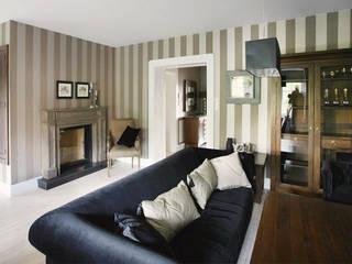 2kul INTERIOR DESIGN Classic style living room Textile Beige